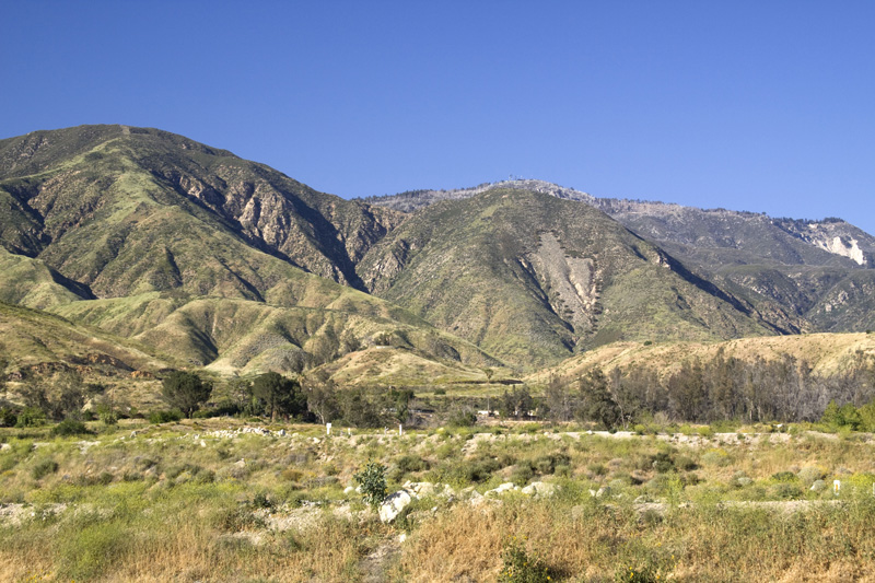 "The San Bernardino Mountains ""Arrowhead National Landmark"""